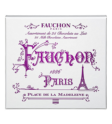 FAUCHON Paris 25 milk chocolate assortment 255g