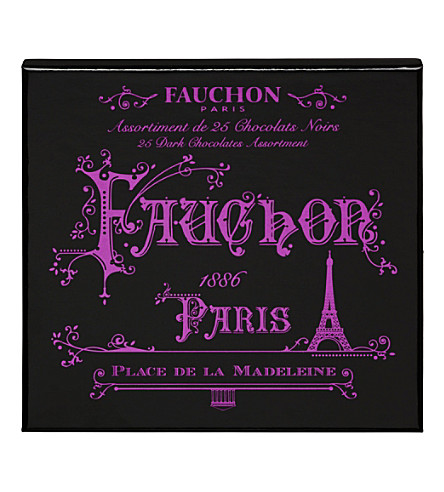 FAUCHON Paris 25 dark chocolate assortment 255g