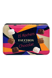 FAUCHON Tin of 15 chocolate rochers