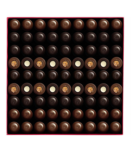 FAUCHON Box of 81 chocolates 810g