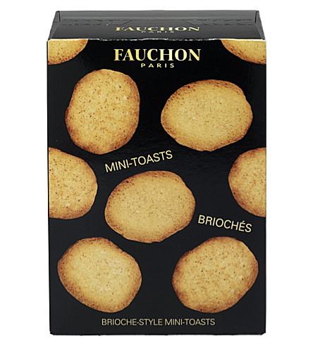 FAUCHON Brioche-style mini toasts