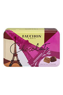 FAUCHON Tin of 15 Monuments of Paris chocolates