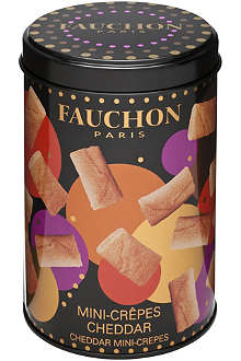 FAUCHON Cheddar mini-crepes 160g