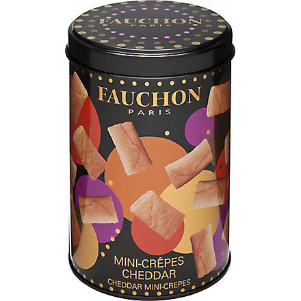 FAUCHON Cheddar mini-crepes 160g