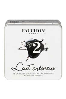 FAUCHON No. 2 Gourmands 18 milk chocolate squares 145g