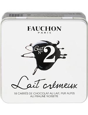 FAUCHON No. 2 Gourmands 18 milk chocolate squares 145g