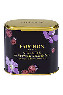 FAUCHON Violet & Wild Strawberry loose leaf tea 100g