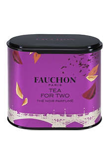 FAUCHON Tin of Tea for Two tea