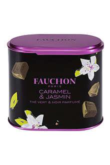 FAUCHON Caramel & Jasmine loose leaf tea 100g