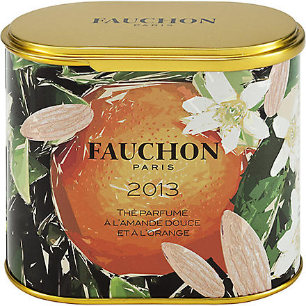 FAUCHON Sweet Almond & Orange loose leaf tea 90g
