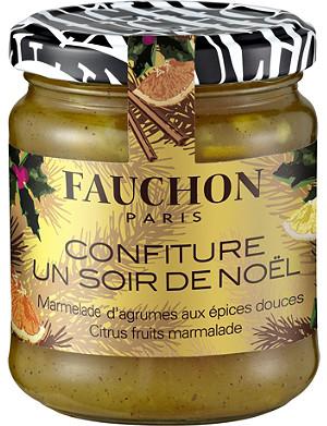 FAUCHON Un Soir de Noel Citrus fruits marmalade 235g