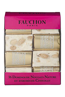 FAUCHON Box of 16 assorted nougat 160g