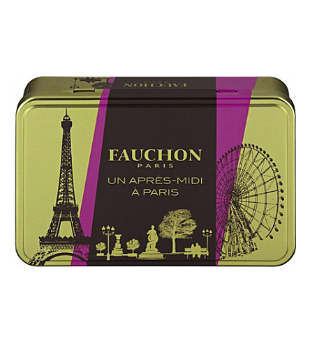 FAUCHON Apres-Midi biscuit tin 200g