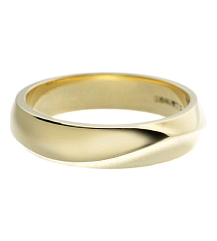 SHAUN LEANE Entwined 18ct yellow-gold vine wedding band