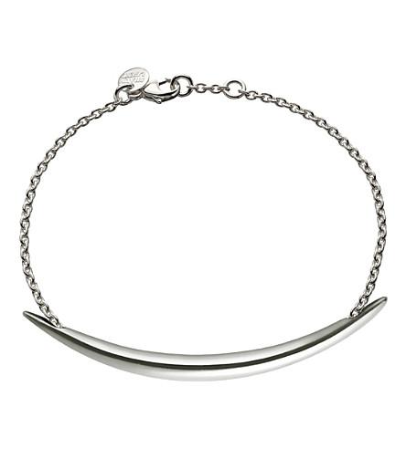 SHAUN LEANE Quill Silver chain bracelet