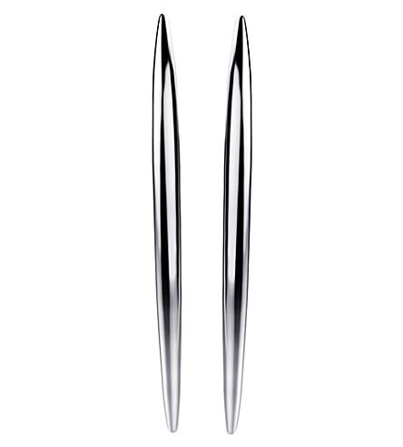 SHAUN LEANE 弯曲的鹅毛笔纯银下来