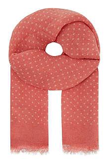 CARAMEL Dotty scarf