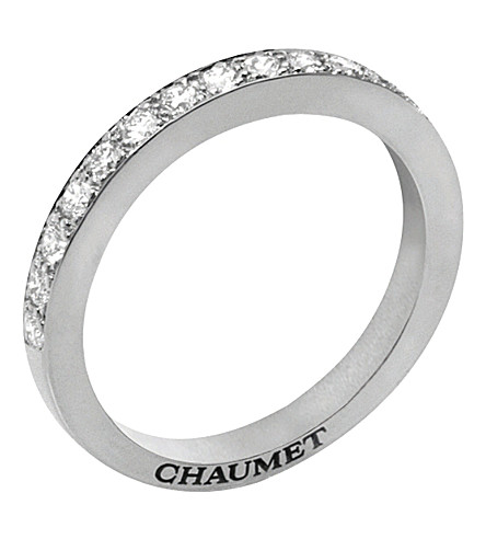 CHAUMET Frisson platinum wedding band