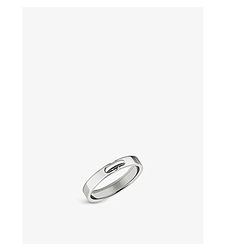 CHAUMET Liens Evidence platinum wedding band