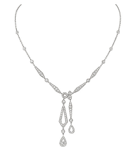 CHAUMET Joséphine 18ct white-gold necklace