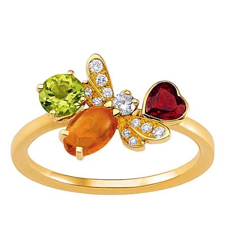CHAUMET Attrape-moi si tu maimes 18ct yellow-gold and diamond ring