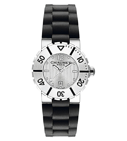 CHAUMET W17220-33A Class One stainless steel watch