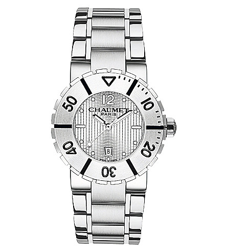 CHAUMET W17620-33A Class One stainless steel watch
