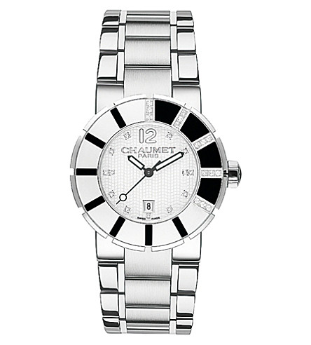 CHAUMET W17623-33E Class One stainless steel watch