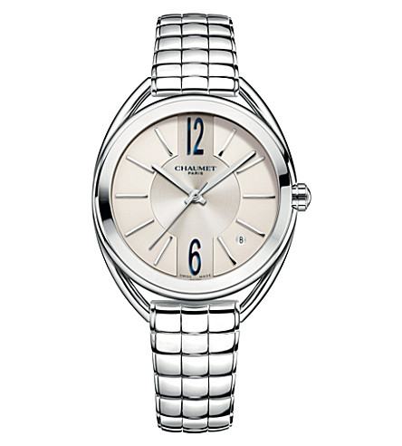 CHAUMET W2367001A Liens stainless steel bracelet watch