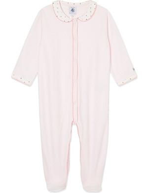 PETIT BATEAU Cotton sleepsuit 1-24 months