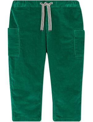 PETIT BATEAU Stretch corduroy trousers 3-36 months