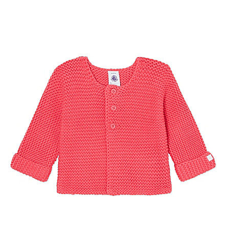 PETIT BATEAU Knitted cardigan 1-12 months (Geishared