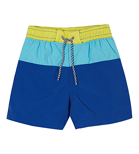 PETIT BATEAU 游泳短裤6-24 月 (蓝色/calcedoineblue