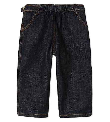 PETIT BATEAU Cotton jeans 3-36 months (Jeanblue