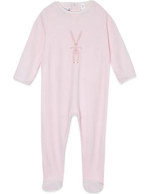 PETIT BATEAU Unisex rabbit motif bodysuit 1-24 months