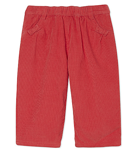 PETIT BATEAU Pure cotton corded trousers 3-36 months (Pink