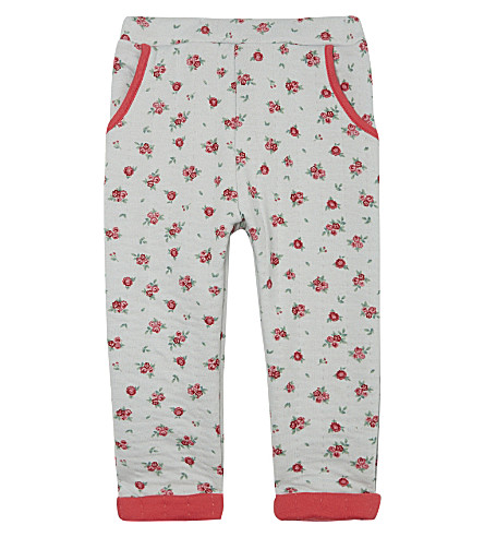 PETIT BATEAU Cotton-blend pants 3-36 months (Blue