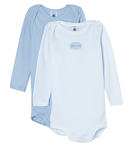 PETIT BATEAU Set of two bodysuits 3-36 months