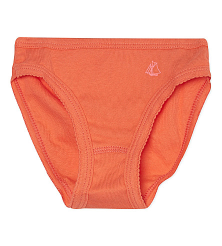 PETIT BATEAU Cotton pants 3-12 years (Orange