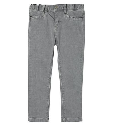 PETIT BATEAU Cotton jeans 3-36 months (Grey