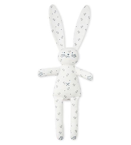 PETIT BATEAU Rabbit comforter (Lait+white