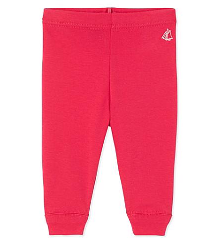 PETIT BATEAU Baby girls' leggings 3-36 months (Flashy+pink