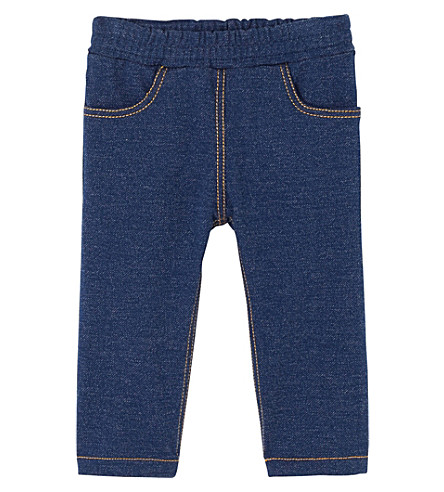 PETIT BATEAU Baby boy's stretch fleece pants 3-36 months (Ecru+beige