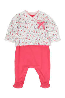 PETIT BATEAU Sleepsuit and jacket set newborn-12 months