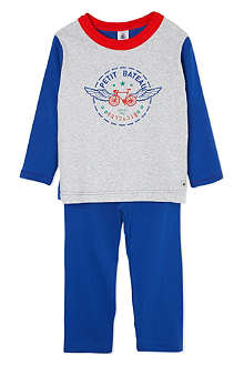 PETIT BATEAU Cotton pyjamas 2-12 years