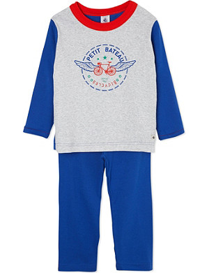 PETIT BATEAU Cotton pyjamas 2-12 years