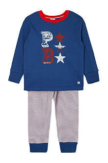 PETIT BATEAU Cotton striped pyjamas 2-12 years