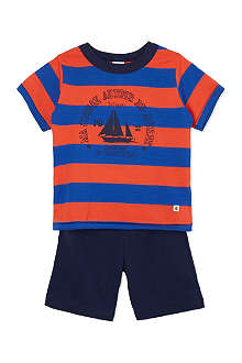 PETIT BATEAU Striped cotton pyjamas 2-12 years