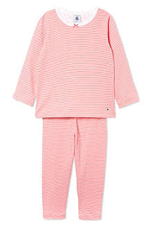 PETIT BATEAU Girls cotton milleraies short 2-12 years