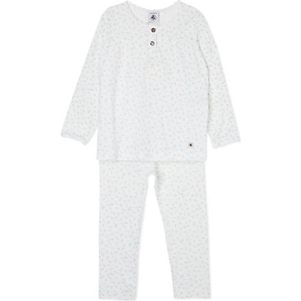 PETIT BATEAU Rose cotton pyjamas 2-12 years (Multicolor